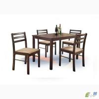 Столовый комплект на кухню, стол и 4 стула, New starter польской фирмы Halmar