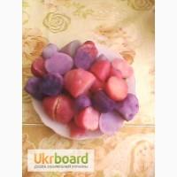 Картопля кольорова, картошка цветная