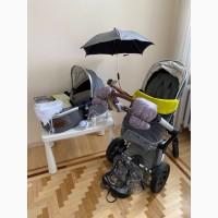 Joolz коляска + автокресло kiddy evolution pro