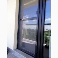 Дверная москитная сетка цвет графит (антрацит)