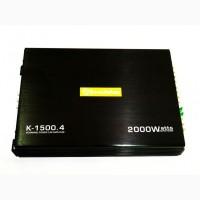 Автомобильный усилитель звука Roadstar K-1500.4 2000W 4-х канальный