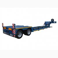 Низкорамные полуприцепы (тралы) для перевозки негабаритных грузов и сельхозтехники