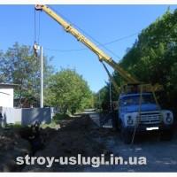 Услуги автокрана КС-2571 на базе ЗИЛ