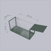 Разборная клетка, собаколовка, живоловушка для собак. Безопасный отлов. 1, 5 метра