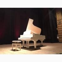 Продается белый рояль концертный полный