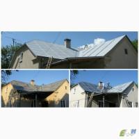 Фарбування дахів за доступною ціною з гарантією