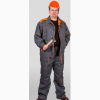 Костюм рабочий Спецок серо оранжевый