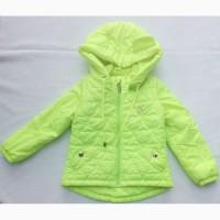 Демисезонная куртка Барбарис девочке – размер 110