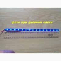 Светодиодная подсветка салона авто Синяя
