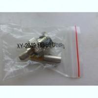 Штекер XY - 2049 RG-59 CRIMPING