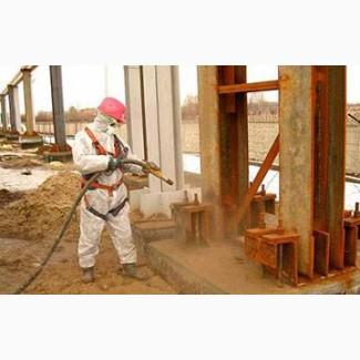 Пескоструйные работы на промышленных объеках Сумы Киев Харьков Днепропетровск Чернигов
