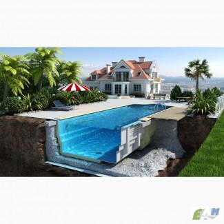 Строительство и монтаж бассейнов