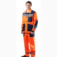 Спецодежда костюм «дорожный» (куртка и полукомбинезон)