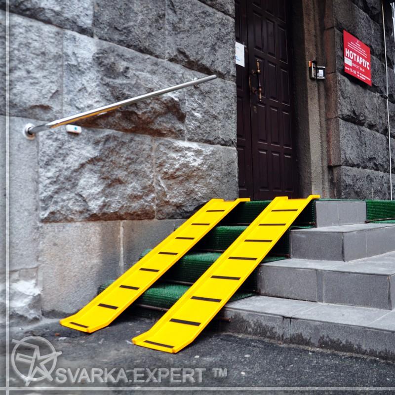 Фото 5. Пандус для инвалидных и детских колясок в Киеве