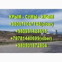 Регулярные пассажирские перевозки Крым - Сумы - Крым