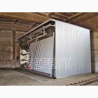 GEFEST DKB - «бюджетная» серия энергоэффективных промыш. сушильных камер для сушки дерева