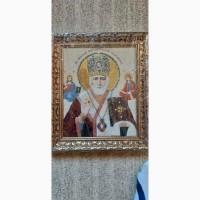 Икона с натуральных минералов и камней.Вся Украина