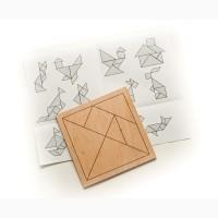 Продам головоломку Танграм из фанеры для детей и взрослых, Харьков доставка