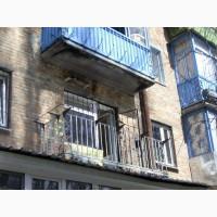 Вынос балконов. Сварочные работы