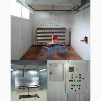 Мобильные промышленные окрасочно-сушильные камеры GEFEST PDC для окраски любых изделий