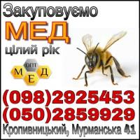Оптовая закупка мёда. Кировоград / oбласть ОПТ-МЕД