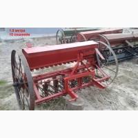 Сеялка б/у 1.5-3.0 м для мини трактора