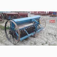Сеялка б/у для мини трактора Польша 2 м