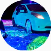 Светящаяся краска для вашего авто AcmeLight Metal