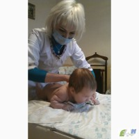 Детский массаж, плавание + фитбол. Боярка, Вишневое, Киев