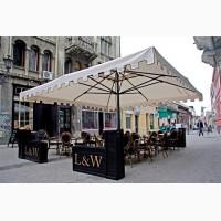 Великі вуличні парасолі для кафе, бару, ресторану