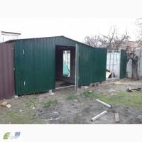 Продам Металлический гараж из профнастила