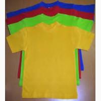 Однотонные футболки футболки оптом, дешевые футболки