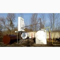 Оборудование для переработки шин, пластика, плёнки, нефтешламов в топливо
