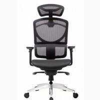 Кресло ERREVO ZERO в черном цвете, спинка/сетка, сидение/сетк