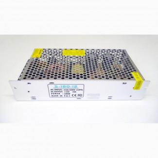 Блок питания 12V 15А Металл