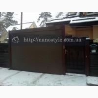 Роллеты на окна, двери, гаражные ролеты, на въезд, на заказ Киев