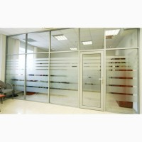 Офисные перегородки из стекла. Перегородки для разделения офиса