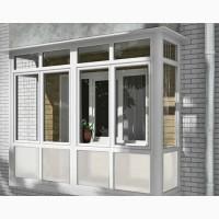 Окна балконы лоджии (вынос, обшивка, утепление). Французские балконы