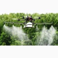 Агрохімічні послуги агродронами гвинтокрилами квадрокоптерами безпілотниками самольотами