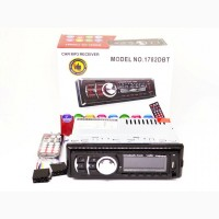 Автомагнитола Pioneer 1782DBT - Bluetooth MP3 Player, FM, USB, SD, AUX - RGB подсветка