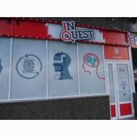 Комплексное оформление витрин магазина, реклама внутри магазинов