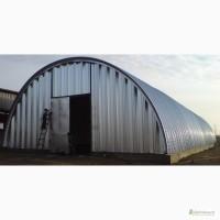 Бескаркасные ангары, склады, напольные зернохранилища