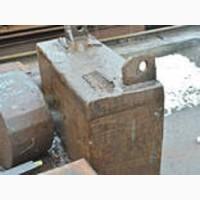 Поковка сталь 9ХФ 490х740х1200 мм