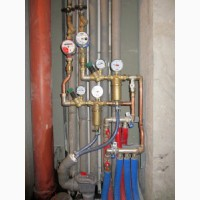 Ремонт медного водопровода, пайка меди, монтаж медных труб, услуги сантехника Киев