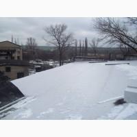 Ремонт мембранной крыши в Кириловке