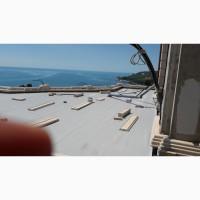 Монтаж и ремонт мембранных крыш в Одессе