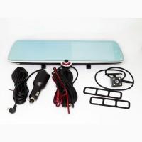 DVR CSZ-C33 Зеркало с видео регистратором с ТРЕМЯ камерами. 5 Сенсорный экран