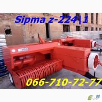 Незаменимый и необходимый пресс подборщик СИПМА z-224 Польша