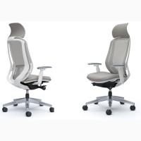 Кресло офисное OKAMURA SYLPHY Белый каркас, Light Grey