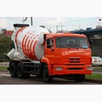 Новый автобетоносмеситель TZA-58149Z барабан 9 м3 на шасси КамАЗ-6520